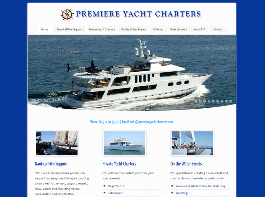 Premiere Yacht Charters
